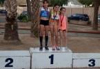 Las Finales de los Campeonatos Regionales Sub-10 y Sub-12 se saldan con tres medallas para los atleta del Athletic Vinos D.O.P. Jumilla