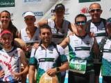 Espectacular bagaje de buenos puestos del Hinneni Trail  en la Trail de Villaverde de Guadalimar con 3 podios