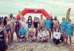 El Club Natación Jumilla se hace con el tercer puesto por equipos en la X Travesía de Hogueras de San Juan (Alicante)
