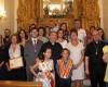 El párroco de El Salvador Valeriano Matínez pregonó las fiestas de La Asunción y se formalizaron los nombramientos de Abanderada y Mayordomo para este 2019