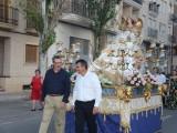 La Virgen de la Asunción ya está preparada para ser agasajada en estos días de fiestas en su honor