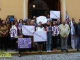 La Asociación de Lucha por la Igualdad de Jumilla (ALI) sale a la calle para mostrar su repulsa ante el asesinato de un niño a manos de su padre en Beniel