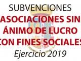 Se abre el plazo para solicitar subvenciones a asociaciones con fines sociales