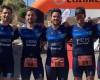 El Club Triatlón Jumilla representado con dos equipos en el Campeonato Regional de Triatlón por Relevos de Yecla