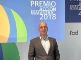 """El profesor jumillano Andrés Carlos López vuelve a optar a un premio 'Acción Magistral' con su nuevo proyecto """"ARTE con nombre de MUJER"""""""