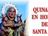 Del 21 al 25 de julio se celebrará el Quinario de Santa Ana