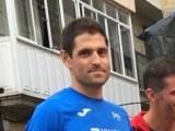 El atleta Marcos Pérez compitió en la cuadragésima edición de la Maratón Popular de San Antón de Cuntis (Pontevedra)