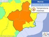 Aviso naranja para hoy miércoles por altas temperaturas