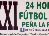 """Todo preparado para la XXXI edicion de las 24 horas de Fútbol Sala C.D. La Parra que este año premia a la Peña """"Frente Jumilla"""""""