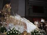 La patrona ya descansa en San Agustín