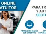 La Concejalía de Comercio informa de diferentes cursos online gratuitos para trabajadores y autónomos del sector