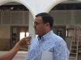 Carmelo Gómez, coordinador regional de Mensajeros de la Paz, habla de los posibles puestos de trabajo en la apertura de la residencia de ancianos en el asilo