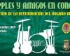 Los Apples en concierto para recaudar fondos destinados a la reparación del órgano de la Parroquia de Santiago