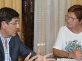El consejero de Sanidad Manuel Villegas visita Jumilla para conocer de primera mano los daños sufridos en Jumilla por las lluvias