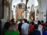 El Niño de las Uvas, ya descansa en su morada, el Monasterio de Santa Ana