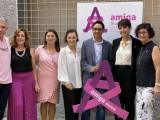 Bodegas Bleda recibe el'Lazo Rosa de AMIGA Murcia' por su implicación con la asociación en la lucha contra el Cáncer de mama
