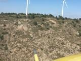 Muere un parapentista en la Sierra del Buey tras caer desde treinta metros de altura