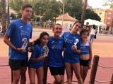 Victoria de Sergio Domínguez en la Milla Urbana Ciudad de Mula y segundos puestos para Lucia Pérez y Fátima Hernández
