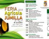 La Feria Agrícola de Jumilla arrancó ayer con 40 expositores y el nuevo pavimento del Mercado de Abastos