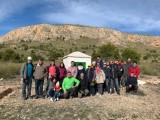 Hoy se ha presentado las obras del aljibe de la Sierra de las Cabras y la Hermana