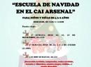 Abierto el plazo de inscripciones para las actividades de Navidad del CAI El Arsenal