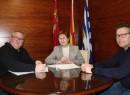 Ayuntamiento y Asociación de Tambores Cristo de la Sangre firman el convenio 2019 para la concesión de una subvención de 2.000 euros