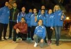 Trece atletas del Athletic Club Vinos D.O.P. Jumilla afinan su forma física en el Control Federativo de Pista Cubierta celebrado en Cartagena.