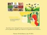 El próximo viernes 28 de febrero impartirá la charla deIniciativa europea de Ciencia Ciudadana
