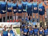Los integrantes del Club Triatlon Jumilla se reparten por la Región para representar al club en diversas competiciones