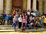 Los alumnos de 1º ESO del IES Arzobispo Lozano han visitado la ciudad de Cartagena