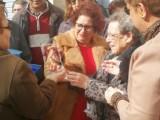 Los vecinos de la calle Calvario homenajean a Ana Soriano Olivares