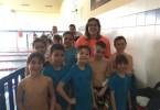 El pasado domingo se celebraba el VI Trofeo de Natación Dragon Day, en la Piscina Climatizada del Colegio San Jorge, siendo el turno para las categorías prebenjamin y benjamin.