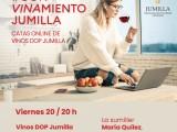 La DOP Jumilla, ofrecerá catas online desde casa.