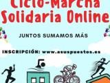 Se pone en marcha una marcha deportiva solidaria desde casa, a beneficio de Cáritas Jumilla