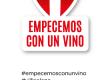 """""""Empecemos con un vino"""" la iniciativa de Bodegas Viña Elena."""