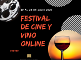La Concejalía de Cultura, a través de la Biblioteca Pública Municipal, ha organizado el Festival de Cine y Vino Online.