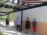 Finalizan las obras de sustitución de la cubierta del local social de Las Encebras