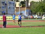 Cara y cruz para los atletas del Athletic Vinos D.O.P. Jumilla en el Campeonato de España Sub-23, Sergio Domínguez mejora las expectativas previas en los 800 metros lisos y Eduardo Minchala es descalificado en la prueba de marcha.