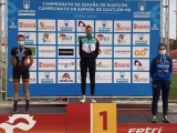 Belén Gonzalez, tercer puesto en su grupo de edad en el campeonato de España de Duatlon