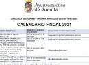 Gestión Tributaria hace públicas las fechas claves del calendario fiscal local de 2021