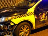 Los disturbios en Jumilla por el asesinato de Kevin Morales terminan con daños en los coches patrulla de la Policia Local