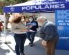 El Partido Popular de Jumilla hace una recogida de firmas en favor del trasvase Tajo-Segura