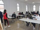 En marcha las clases de español para inmigrantes que imparte Cruz Roja mediante el convenio con el Ayuntamiento de Jumilla