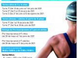 Hoy se abre el plazo de preinscripción para los cursos de natación de las Piscinas de Verano