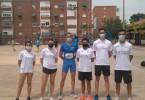 María José Escoda, quinta, y Juan Paya, sexto, logran puestos de finalistas en el Campeonato de España Master al Aire Libre celebrado en Málaga, completando la actuación del Athletic Club Vinos D.O.P. Jumilla José Luís Monreal con una decimonovena posición.
