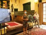 Finalizan las obras de reforma del salón de plenos, la escalera y la entrada principal del Ayuntamiento de Jumilla