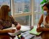 Seve González se reúne con la secretaria general de la Consejería de Educación y Cultura de la CARM, María Luisa López