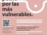 Presentadas las actividades por el Día Mundial contra el Cáncer de Mama 'Saca pecho por las más vulnerables'