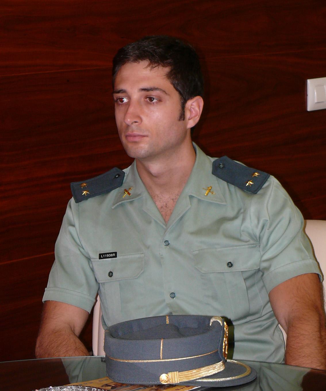 Tras el cambio de destino del anterior teniente de la Guardia Civil ...