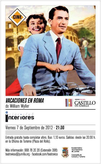 El castillo sigue ofreciendo cine este viernes vacaciones for Oficina turismo roma